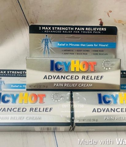 Dầu nóng ICY HOT Advanced Relieff 56g