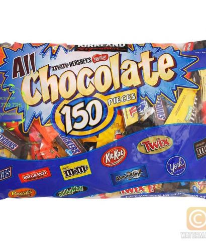 ALL CHOCOLATES 2.55KG Kirkland