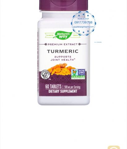 TURMERIC EXTRA Nature's Way 60 viên
