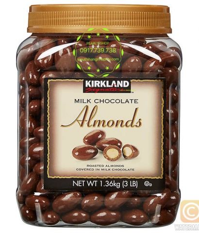 MILK CHOCOLATES ALMOND 1.36KG Kirkland
