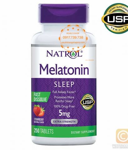 MELATONIN SLEEP 5Mg Natrol 250 viên