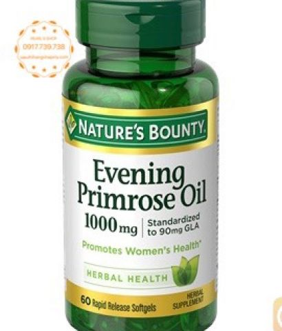 EVENING PRIMROSE OIL Nature's Bounty 60 viên