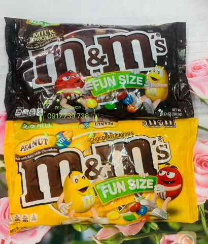 Chocolate M&M fun size 299g