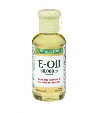 VITAMIN E Oil Nature's Bounty 74ml
