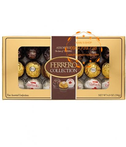 chocolates FERRERO Collection 18 viên