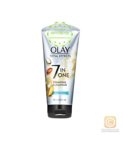 Sữa rửa mặt OLAY TOTAL EFFECTS 7in1 Foaming Cleanser