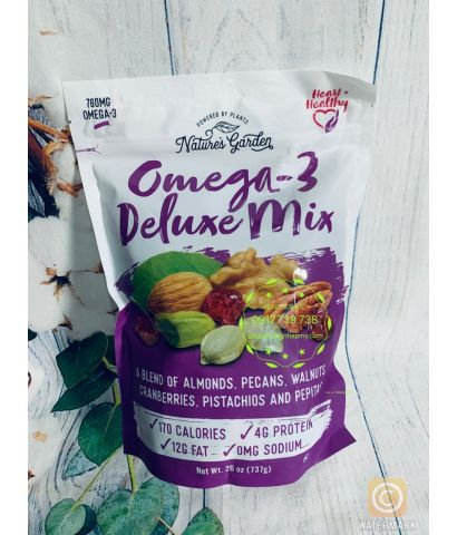 OMEGA 3 DELUXE MIX 737GR