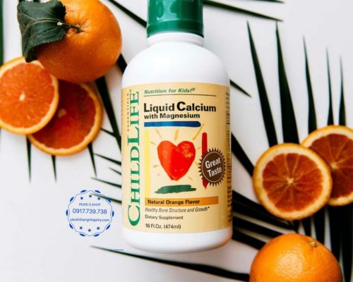 Liquid Calcium Childlife bổ sung canxi