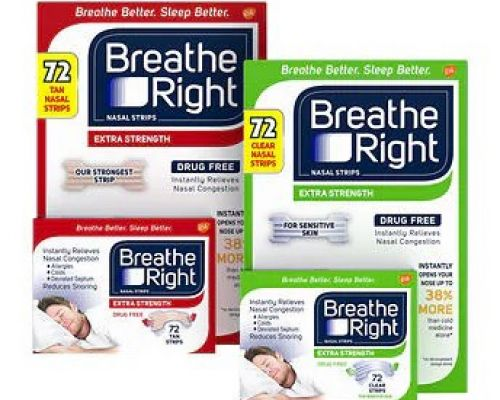 BREATHE RIGHT Extra Stregth 72 miếng